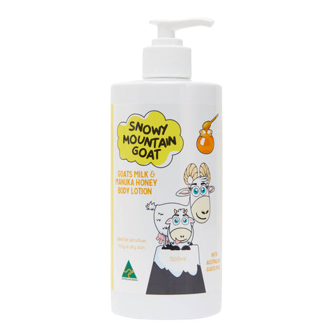 Australian Goats Milk and Manuka Honey 500ml Body Lotion