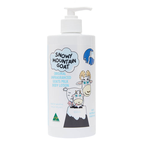 Australian Goats Milk 500ml Body Lotion (Fragrance Free)