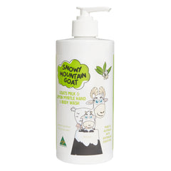Lemon Myrtle Oil and Australian Goats Milk 500ml Hand & Body Wash