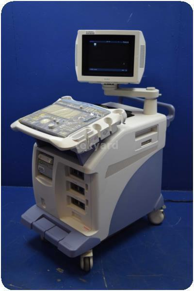 ALOKA SSD-ALPHA 5 ULTRASOUND MACHINE @ (130938)