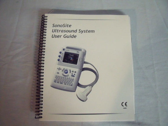 Sonosite Ultra Sound System User Guide and Supplement User Guide  ! L5