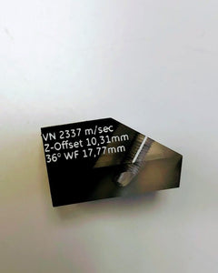 WEDGE 60V-30-70-SHEAR FOR PHASED ARRAY PROBE. GE