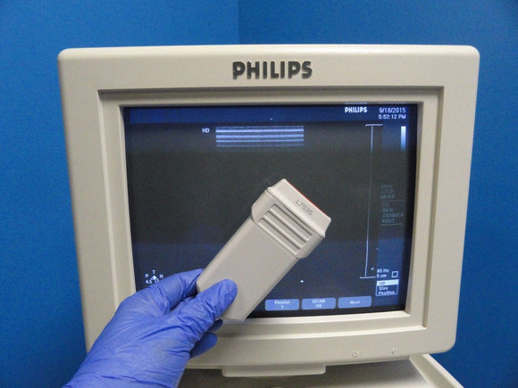 2003 PHILIPS HP L7535 P/N  23159A Linear Array Vascular Ultrasound Probe (9639