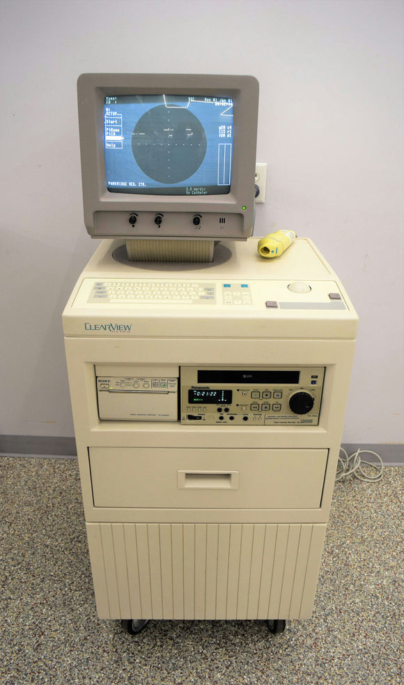 Boston Scientific EC1001 Clearview Ultra Ultrasound System, Printer & Video Rec