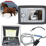 CE Veterinary handheld ultrasound scanner Animal Livestock Rectal Probe+ Battery