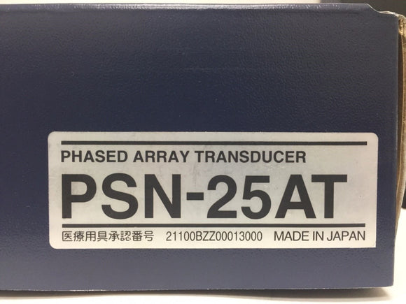 Toshiba PSN-25AT Phased Array 2.5 MHz Transducer Probe Ultrasound Equipment