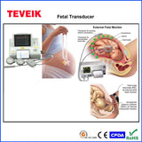 Compatible for Edan / Anke  MS9-01913-A1 Fetal US Transducer, Redal 4pin