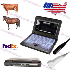 VET Veterinary portable Ultrasound Scanner Machine For Animals,rectal+linear,USA 658126923446