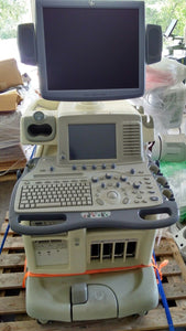 2008 GE Logiq 9 Ultrasound System with Flat screen Monitor. With 4c Transducer