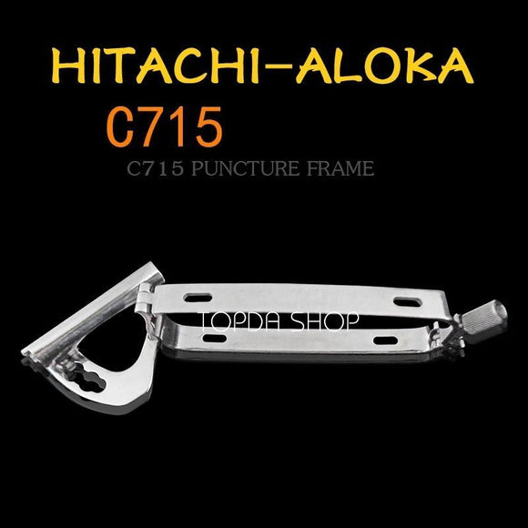 1pc C715 HITACHI-Aloka B-ultrasound Probe Puncture stent Stainless steel guide 725326264225