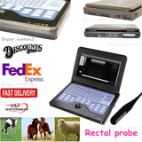 VET Veterinary portable Ultrasound Scanner Machine For Animals,7.5M Rectal Probe 658126923446