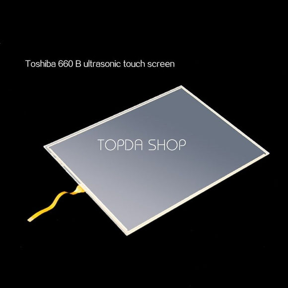 TOSHIBA B-ultrasound Touch screen 10.4 inches 225*173mm For SSA-660B DHL FEDEX 725326263433