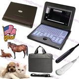 Veterinary Ultrasound Scanner, digital laptop machine, Rectal+Micro-convex, USA 658126923446