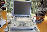 GE LOGIQ e 2011 Ultrasound with 2 Probes and Cart