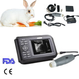 Veterinary Portable Ultrasound Scanner Machine Rectal Probe For Animal with Case 190891468284
