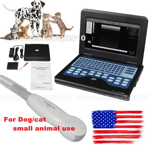 VET Veterinary Laptop Ultrasound Scanner Machine For Dog/Cat/Animal Micro Convex 658126923446