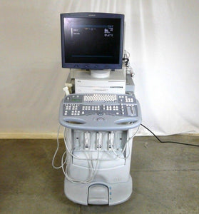 Siemens Acuson Sequoia 512 Ultrasound System w/ 2 Transducer 15L8 15L8w Medical