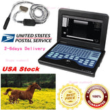 USA Veterinary Ultrasound Scanner Laptop Machine 7.5Mhz Rectal,bovine & equine 658126921220