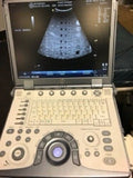 GE Vivid E Cardiac/Vascular/General Portable Ultrasound with 4 probes