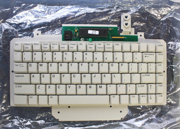 Philips IE33 Ultrasound QWERTY Keyboard Assembly 453561278685 Used
