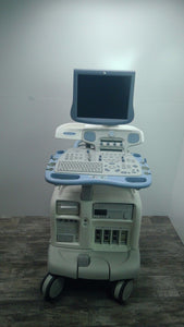 GE Vivid 7 Ultrasound System BT08  MFG 2007 with M3S Cardiac Transducer