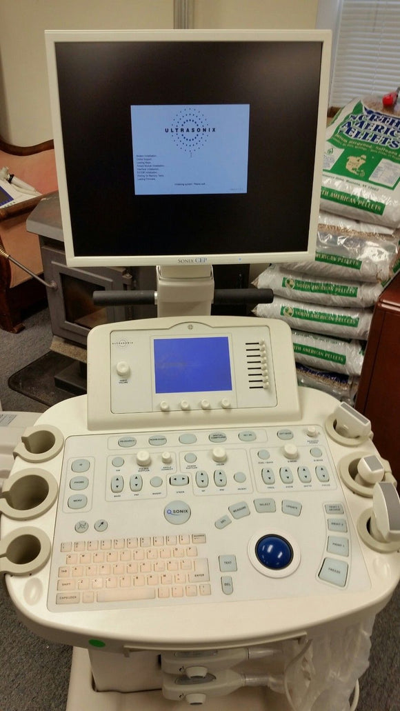 Ultrasonix Sonix CEP Ultrasound System for Emergency Medicine +PA4-2 L9-4 Probes