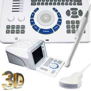 Top handheld CE Ultrasound System Scanner with Convex&Transvaginal probes+3D
