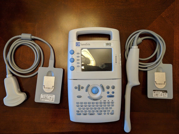 SonoSite 180 Plus Portable Hand-Carried Ultrasound System