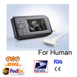 "5.5 "" Handheld Ultrasound Scanner/Machine  Digital +Convex Probe+Case Human Sale 190891767349"