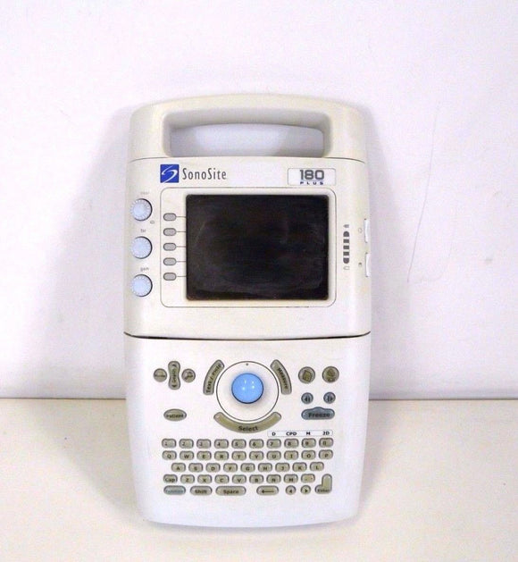 Sonosite 180 Plus Portable Ultrasound System P02462-02 Medical