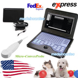 USA Veterinary Pregnancy Ultrasound Scanner Portable Laptop Machine Cat/Dog Use 658126923446