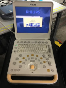 PHILIPS CX50 PORTABLE ULTRASOUND + doppler + cardiac+  linear probes. works fine