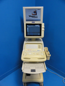 Toshiba Just Vision 400 SSA-325A Diagnosic Vet Ultrasound W/ Computer & Monitor