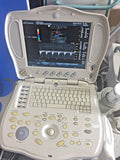GE LogiqBook XP Porable Ultrasound with 3 transducers & Cart