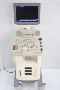 GE General Electric VIVID LOGIQ P5 Ultrasound Machine- PARTIALLY TESTED