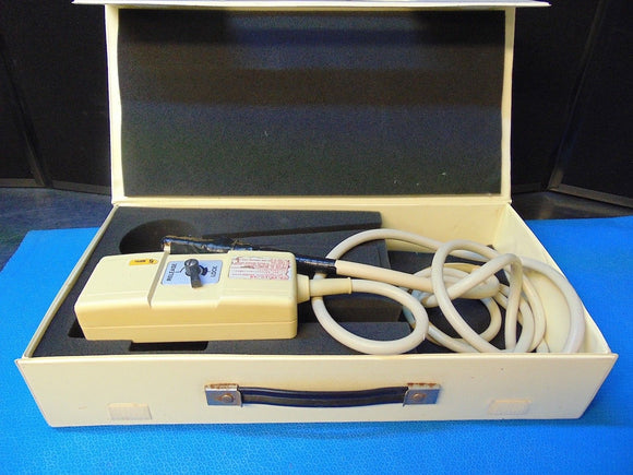 Aloka UST-5813-5 Ultrasound Probe 5 MHz Carry Case Included RH244