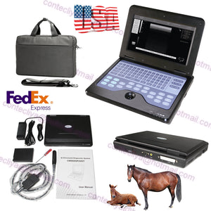 VET Veterinary portable Ultrasound Scanner Machine For Animals,7.5M Rectal Probe 658126921220