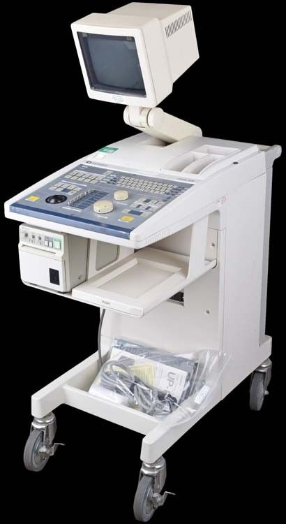 Corometrics Aloka SSD-620 Medical Ultrasound Imaging System Diagnostic Unit