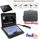 Veterinary Digital Ultrasound Scanner CMS600P2-VET+7.5Mhz Rectal Probe,U.S SHIP
