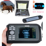 Veterinary VET Ultrasound Scanner Machine Animal Rectal Probe + Oximeter Horses 190891057464