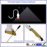 Biopsy Needle Guide, Puncture Adapter For Mindray 7L4A Ultrasound Probe DC3 /6