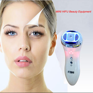 Mini Hifu High Intensity Focused Ultrasound Skin Face Anti-Aging Beauty Machine 865471902310