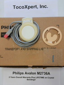 Philips M2736A Avalon Ultrasound Transducer $1189 - LIFETIME Warranty! Brand New