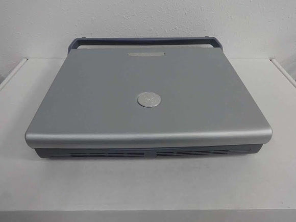 2007 GE LOGIQ E PORTABLE ULTRASOUND WITH CARDIAC PROBE. WORKS FINE