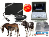 VET Veterinary Portable Ultrasound Scanner Laptop machine For Equine/COW, rectal 658126923446
