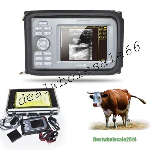 Veterinary Digital Handheld Ultrasound Scanner Machine  Rectal Transducer [USPS] 190891418913
