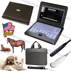 US Seller,veterinary ultrasound scanner VET Machine+2 Probes,COW/Horse/Dog/Sheep 658126921220