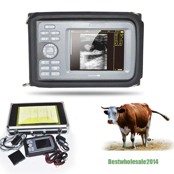 Veterinary Digital Handheld Ultrasound Scanner Machine+ Rectal Probe Aminal US 190891255440