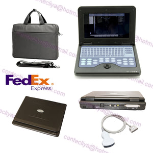 USA FEDEX Full Digital Portable Ultrasound Scanner Machine With Convex Probe,CE 756040906177