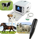 Vet Veterianry Ultrasound Scanner 3.5 Convex + 6.5Mhz Rectal probe+ 3D Farm Cow